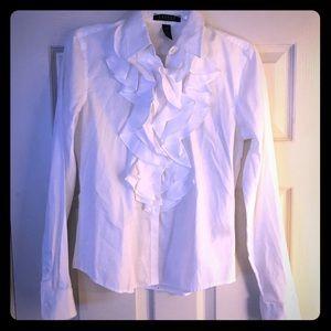 Ralph Lauren ruffle blouse